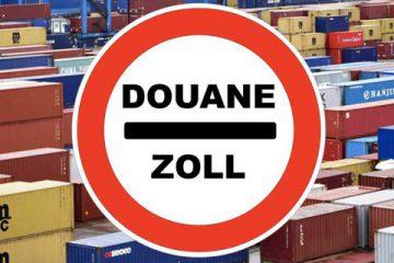 Déclaration douane