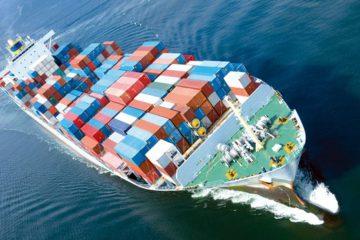 Transit maritime et terrestre